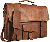 ALASKA EXPORTS - Messenger Satchel Crossbody Portable Office Briefcase Bag for Men and Women