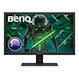 "BenQ GL2780 - Monitor Gaming de 27"" FullHD (1920x1080, 1ms, 75Hz, HDMI, DisplayPort, DVI, VGA, Altavoces, Eye-care, Sensor Brillo Inteligente, Flicker-free, Low Blue Light, antireflejos) - Color Negro"