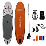 Huangjiahao Tabla Paddle Surf Hinchable Inflables Stand Up Paddle Board Inflable Sup Ideal Principiantes Inflable Paddleboard Kit for Adultos de los niños para Adultos Principiantes/Intermedios